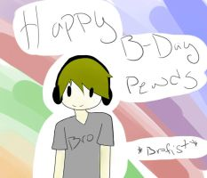 Happy B-Day Pewds by XxXDarkRoseoXo