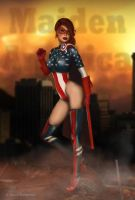 Maiden America by donnaDomenitzo