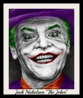 Jack Nicholson Joker by jokercrazy