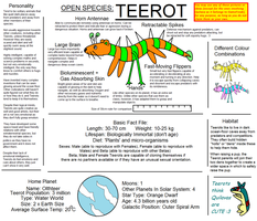 Teerot: Open Species by BudCharles