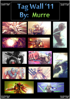 Tag Wall '11 by murr3