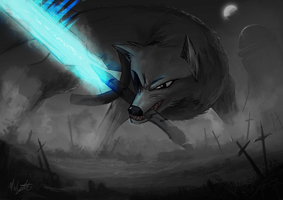 Sif The Great Grey-Wolf - Complete by scoober1111