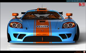 Saleen sr7 TT CP V2 Gulf R1 by RJamp