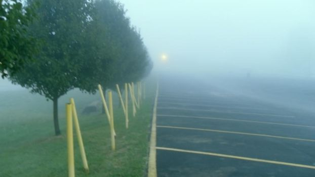 Fog Parking Lot Stock I by CreepShowStock