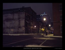 Louisville Cityscape 01 by redapex