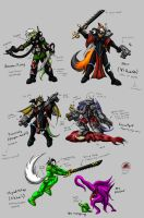 Beyond 40K: Characters only by Snowfyre