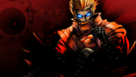 Trigun - Vash PSP by jbeave