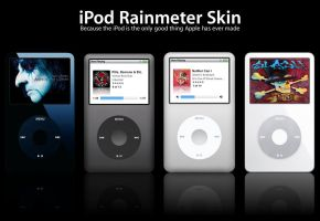 iPod Rainmeter Skin by Spritanium