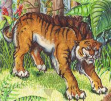 Sabre-toothed by Mireth
