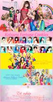 Cover Pack AKB48 32ndSingle Koisuru Fortune Cookie by sophie-ddh