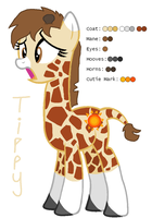 Tippy the Giraffe - MLP:FiM OC by zafara1222