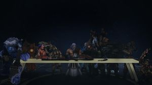 The First Supper by SurtSicario