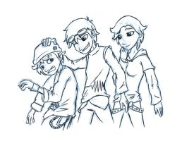 SWH - Character Group Sketchy by tythecooldude06
