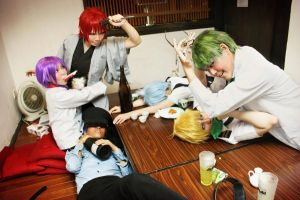 kuroko no basket - If World by mollyeberwein