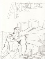 Cover pencils for Angel 21 I1 by UltimateInker