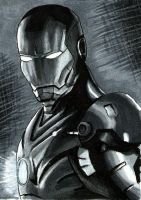 Ironman - ACEO by Sofera