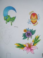 Tattoo designs by Mercony