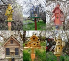 Bird Houses by AmandaTaylor