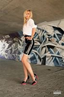 Danca Black Skirt White Blouse 01 by malkiss