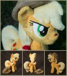 Plushie Applejack 10 inches for sale by Valmiiki