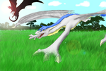 We'll chase the sun_SPEEDPAINT_ by DragonLover4Ever