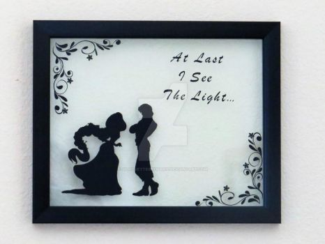 Tangled Wall Decor by SilhouettesbyMarie