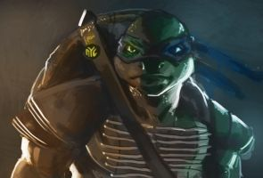 TMNT Leo by burning-pencil