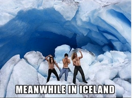 Meanwhile in Iceland... by AmberTheAlchemist