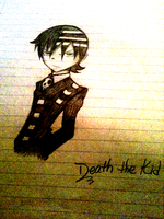 Death the Kid by pikachu1inuyasha1