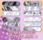Screentone Pattern Pack 4 by Kita-Angel