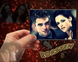 Robert Pattinson Kristen Stewart Robsten wallpaper by Maysa2010