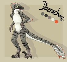 Anthro Daerachas ref by dragonicwolf