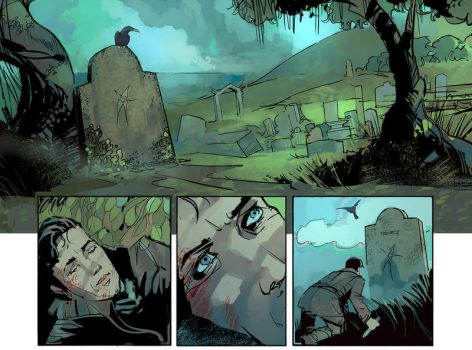 Comic panels by DimMartin