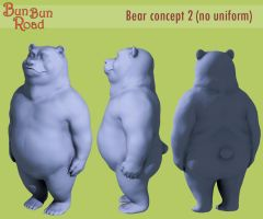 Bear Soldier concept 2 by ChristianHolmes