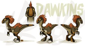 Dawkins Model sheet by weremagnus