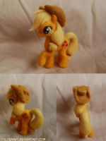 Applejack Needle Felt by ChloeNArt