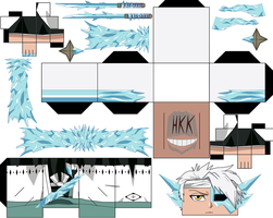 Toshiro Hitsugaya Hollowfied Daiguren Hyorinma by hollowkingking