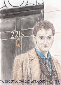 A Consulting Timelord by ruisaur