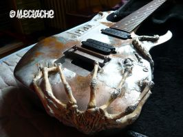 Giger's guitar Troides 2 by Mymakao