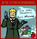 On the twelfth day of Opportunities... by Elliwiny