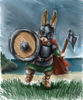 viking bun by nienor