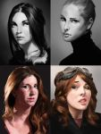 Portrait studies 05 by iZonbi