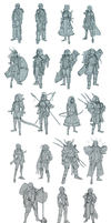 Character Thumbnails by Eowynu