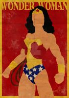 Wonder Woman Minimal by GTR26