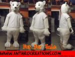 Toony Icebear Full Pot Suit Corset Fursuit MAscot by AtalontheDeer