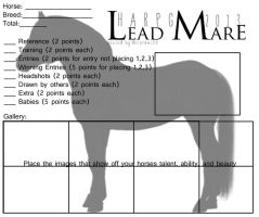 HARPG's Lead Mare Template 2013 by Decorum100