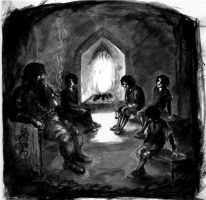 In the house of Tom Bombadil by elieri