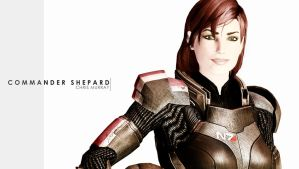 Commander Shepard by Hayter