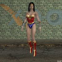 XNA Wonder Woman by X-N-A