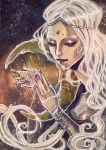 ACEO No3 - Moon Goddess by Miss-Belfry